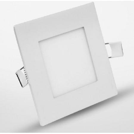 6w Spot LED incastrabil patrat lumina calda