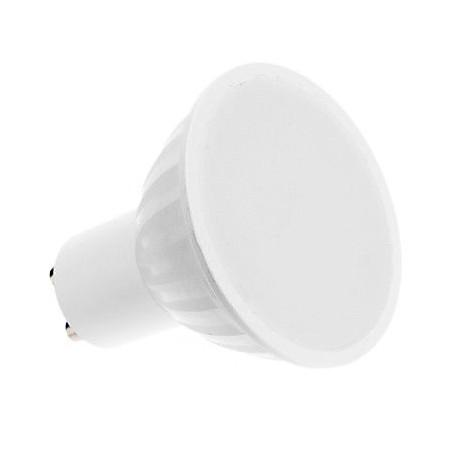 Bec Spot LED GU10 5.5W SMD 220V CERAMIC lumina alba