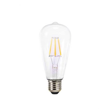 Bec decorativ cu filament Led lumina calda e27