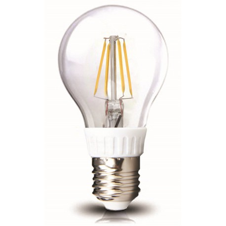 Bec LED E27 6W FILAMENT lumina alba