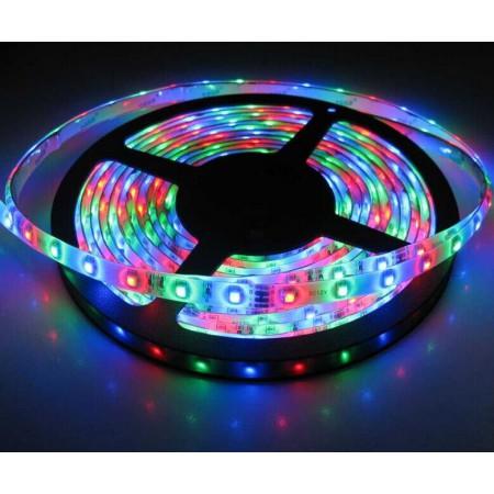 Banda LED 5050 60 SMD/m 14.4W lumina multicolora RGB permeabila