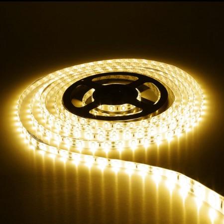 Banda LED 3528 120 SMD 9.6W/m lumina calda