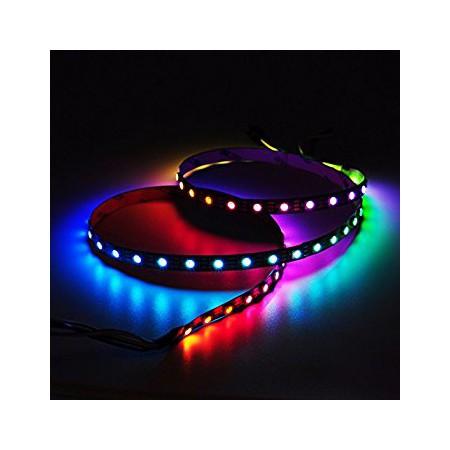 Banda LED 5050 30 SMD/m 7.2W lumina multicolora RGB permeabila