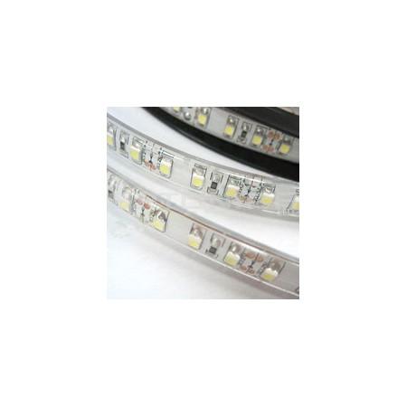 Banda LED 3528 120 SMD/m 9.6W/m lumina neutra impermeabila, turnata in silicon