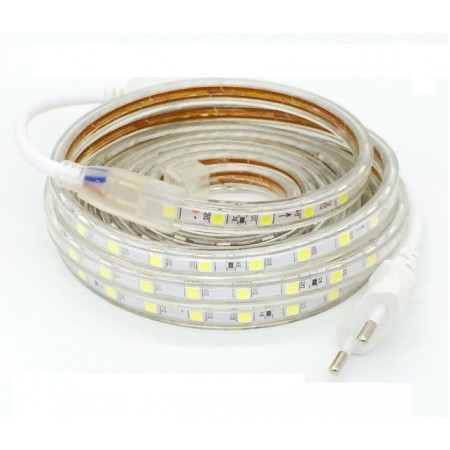 Banda LED 5050 60 SMD/m 220V impermeabila