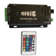 Controler muzica banda led RGB cu telecomanda 18A 12V