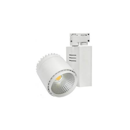 Proiector LED interior 35W COB corp alb lumina calda - Ledel
