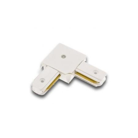 Conector unghiular sina alb/negru - Ledel