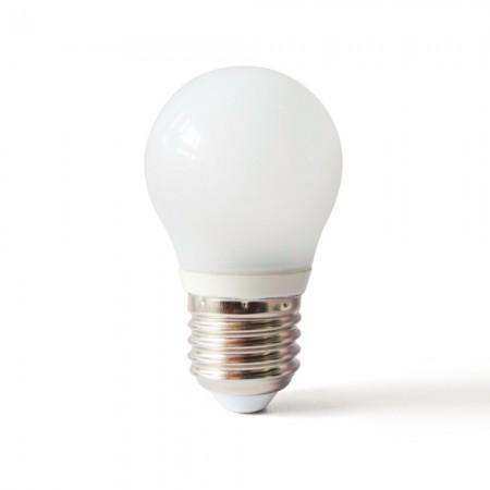 Bec LED E27 STICLA 5W 220V lumina calda/rece
