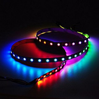 Banda LED 24V 5050 60 SMD/m lumina RGB-multicolora permeabila PROFESSIONAL