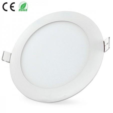 Panou LED DN120 6W incastrabil rotund lumina calda