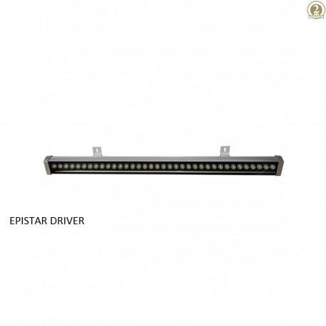 36W Proiector LED liniar lumina alba 2M - IP65