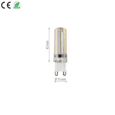 Bec led G9 Gama DALL 4W SMD Silicon lumina neutra/calda - Ledel