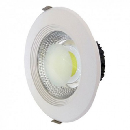 15W Lampa Spot LED COB rotunda, lumina alba
