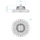 Lampa industriala MEANWELL driver 150W/18000lm 5 ani garantie
