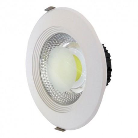 30W Lampa Spot LED COB rotunda, lumina calda