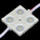 Modul LED IP65 2.4W 4SMD cu lentila