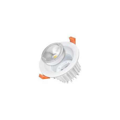 25W Lampa Spot LED COB rotunda, intersanjabil, lumina neutra/rece