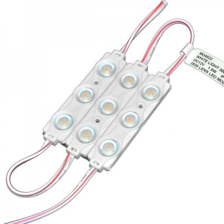 Modul LED 2835 1.5W color cu lentila - Ledel