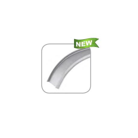 Profil Aluminiu Flexibil 1M Reflector PVC