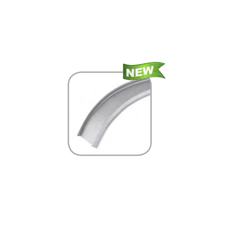 Profil Aluminiu Flexibil 2M Reflector PVC