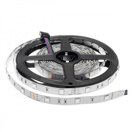 Banda LED RGB 12V 5050 30SMD 7.2w interior - Ledel