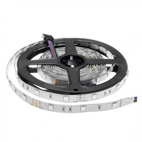 Banda LED RGB 12V 5050 30SMD 7.2w interior