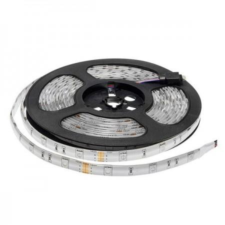 Banda LED 5050 30 SMD/m 7.2w RGB IP54 Baza Profesionala