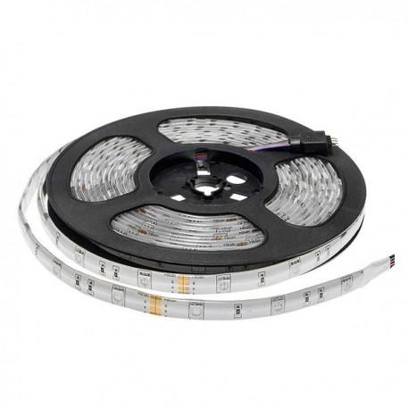 Banda LED RGB 12V 5050 30 SMD 7.2w exterior