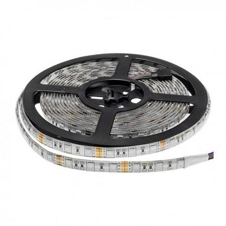 Banda LED 5050 60 SMD/m 14.4w RGB IP54 Baza Profesionala