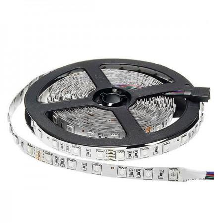 Banda LED 24V 5050 60 SMD/m lumina RGB-multicolora permeabila PROFESSIONAL - Ledel