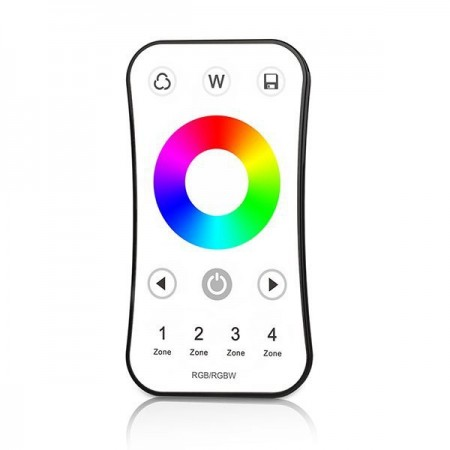 Controler banda led RGB+Alb 4 zone cu senzor
