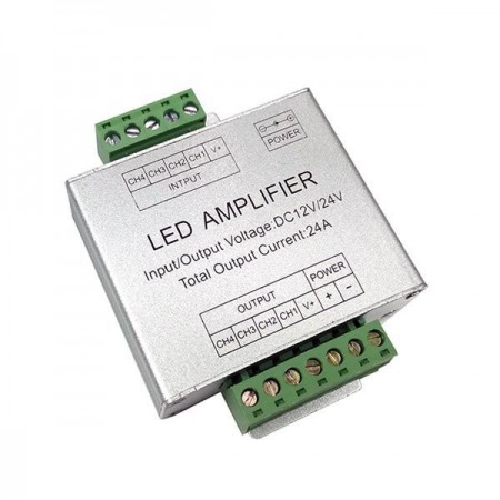 Amplificator RGB metalic 12V/24V 288W