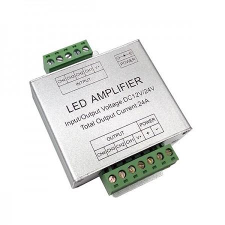 Amplificator RGB metalic 12V/24V 288W - Ledel