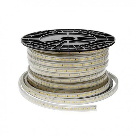 Banda Led 220V 5050 14.4w 60SMD/ml Gama DALL lumina rece/calda