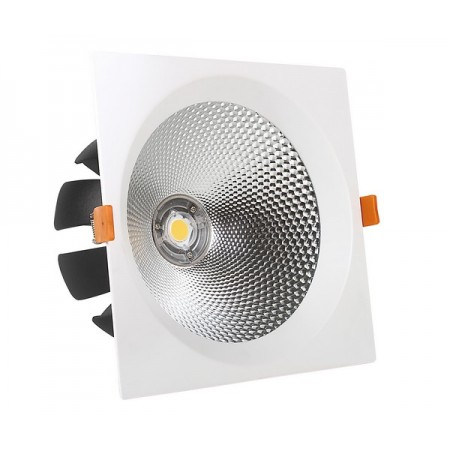15W Lampa Spot LED COB patrata, ajustabila, lumina naturala