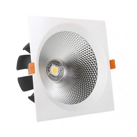 30W Lampa Spot LED COB patrata, lumina naturala