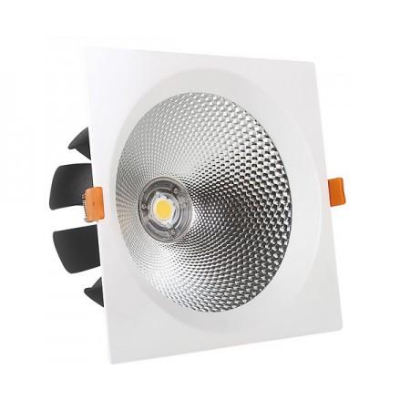 40W Lampa Spot LED COB patrata, lumina naturala