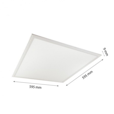 LED PANEL CAPRI SLIM DIMM 600X600X8 48W - Ledel