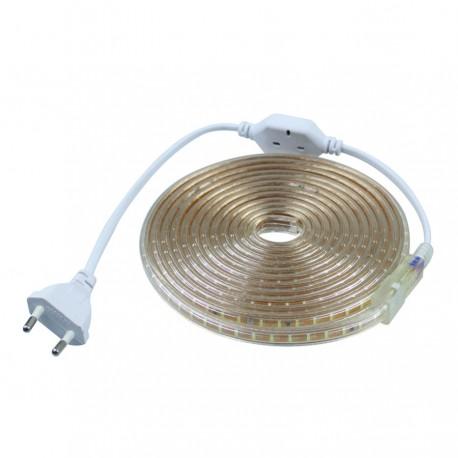 Banda Led 220V 2835 60SMD 6W/m Gama DALL lumina rece/calda