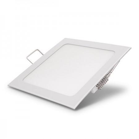 24W Panou LED incastrabil patrat lumina