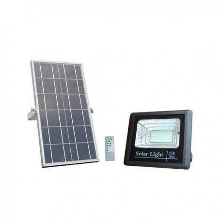 25W Proiector Led Cu Incarcare Solara Si Acumulator