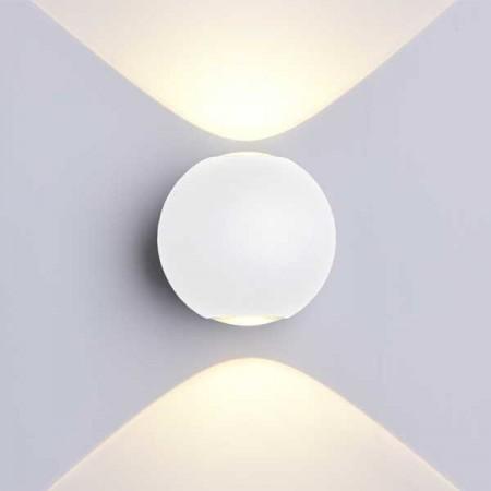6W Aplica Design Alba Rotunda De Perete - Ledel