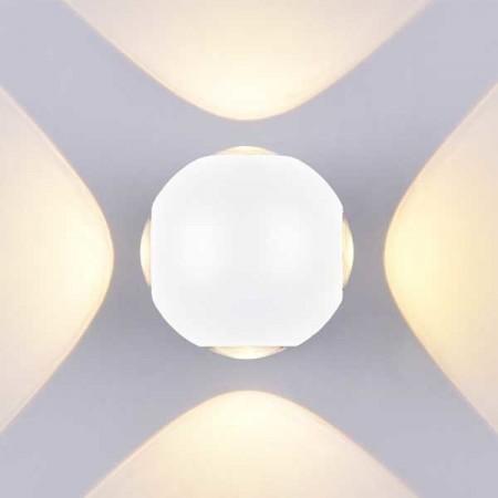 4W Aplica Design Alba Rotunda De Perete