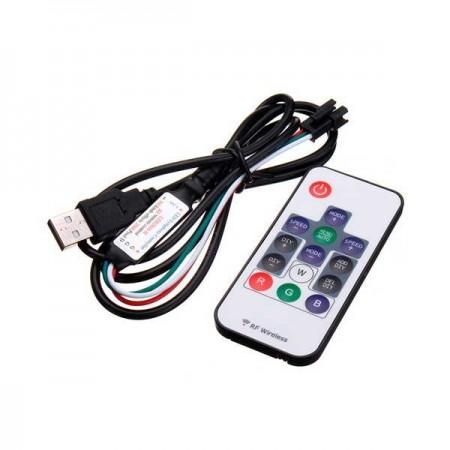 Controler Cu Telecomanda Banda LED - 14 Butoane