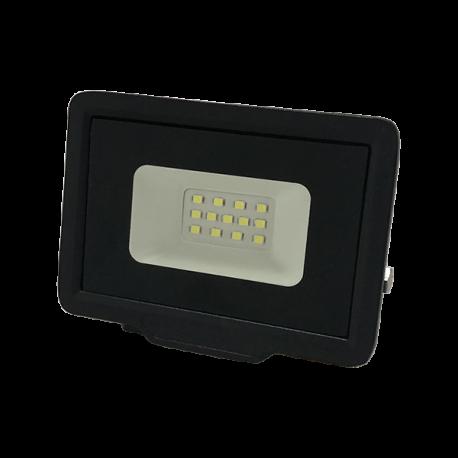 Proiector LED 100w negru,exterior,slim,dall line