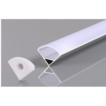 Profil Aluminiu Unghiular 12mm 2M - Ledel