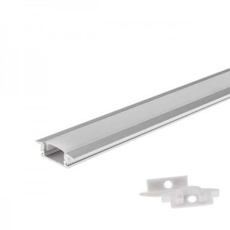 Profil banda led incastrabil 6mm L1m aluminiu - Ledel