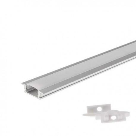 Profil banda led incastrabil 6mm L1m aluminiu