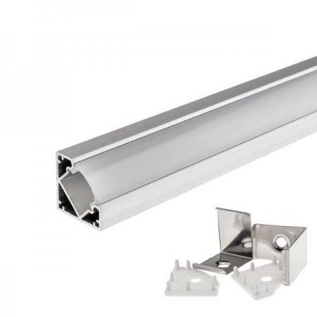 Profil Aluminiu Unghiular 18mm 1M - Ledel